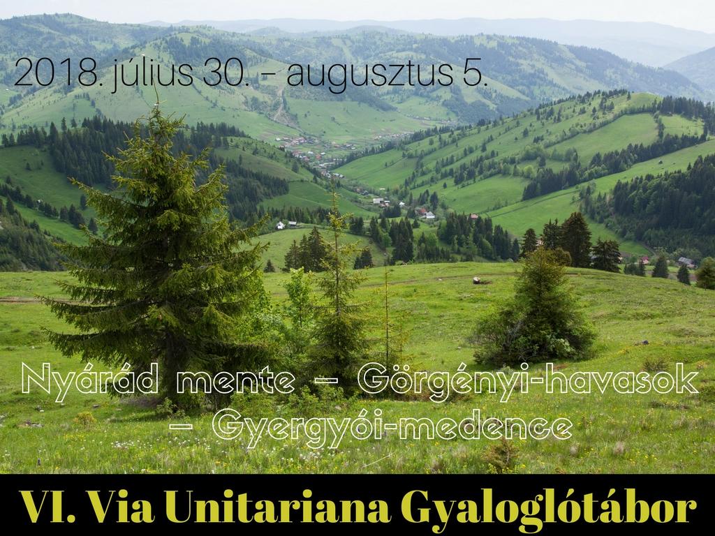 Felhívás – Via Unitariana Gyaloglótábor