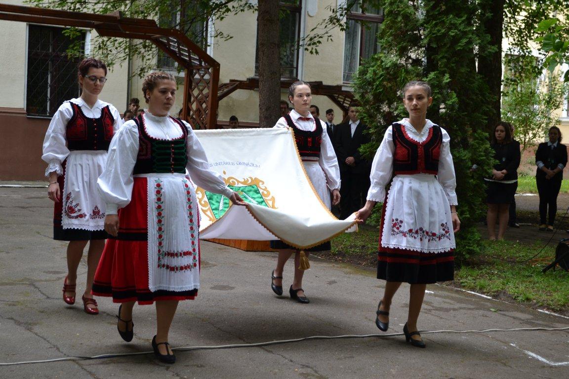 Berde Mózes Unitárius Gimnázium ünnepélye