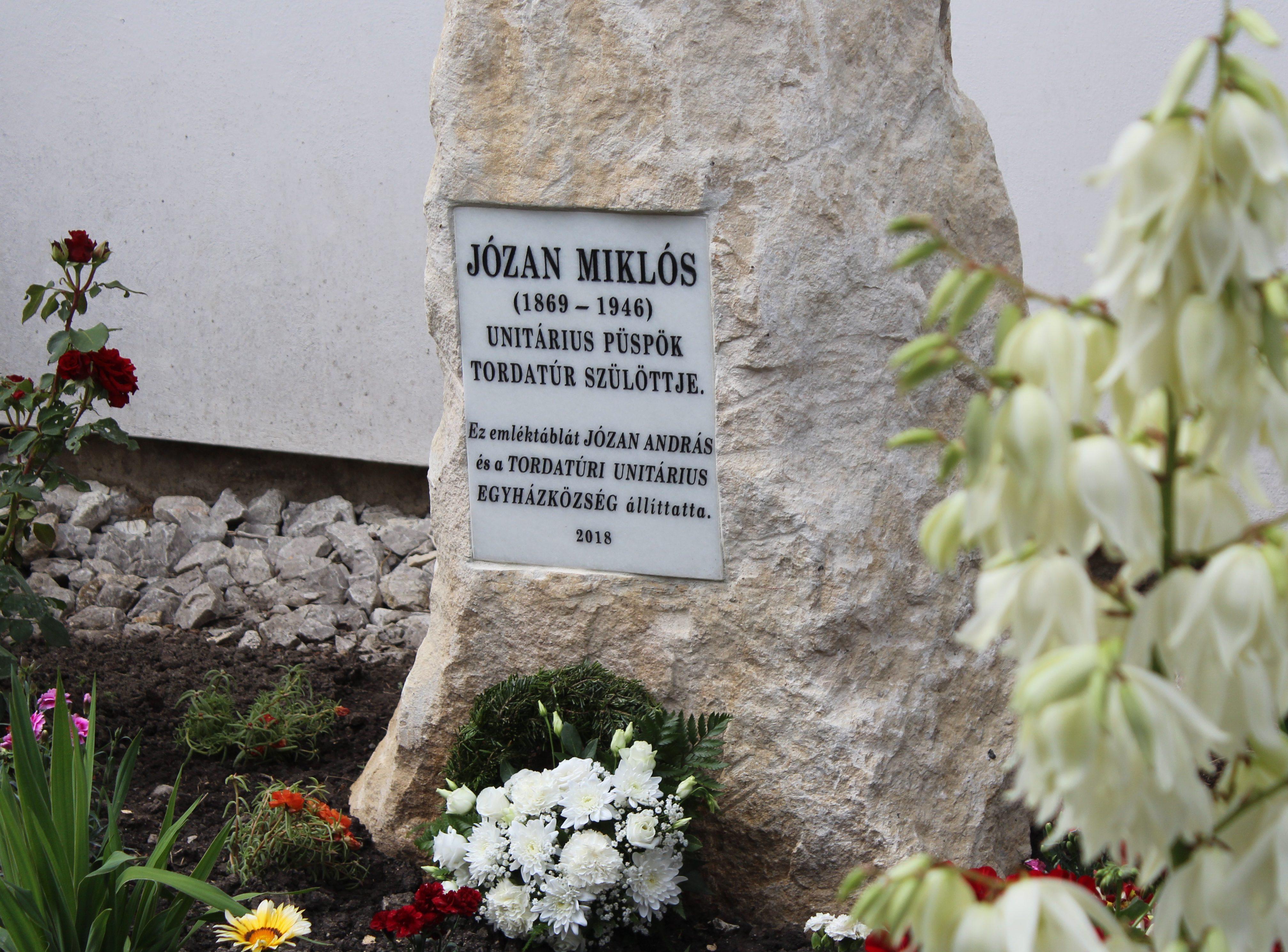 Józan Miklós emlékezete