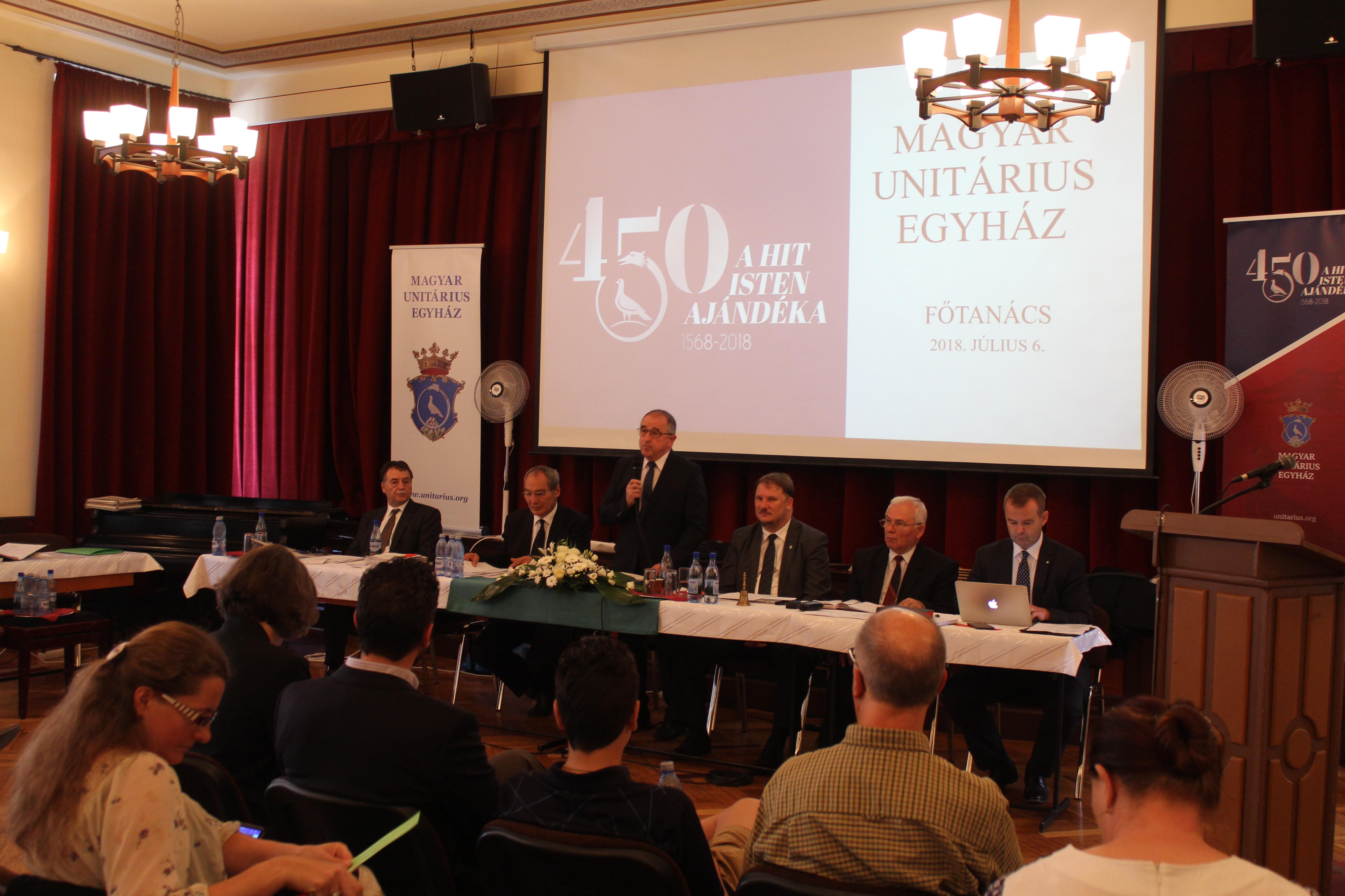 A Magyar Unitárius Egyház főtanácsi üléséről