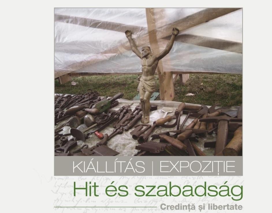 Hit és szabadság képzőművészeti kiállítás Sepsiszentgyörgyön