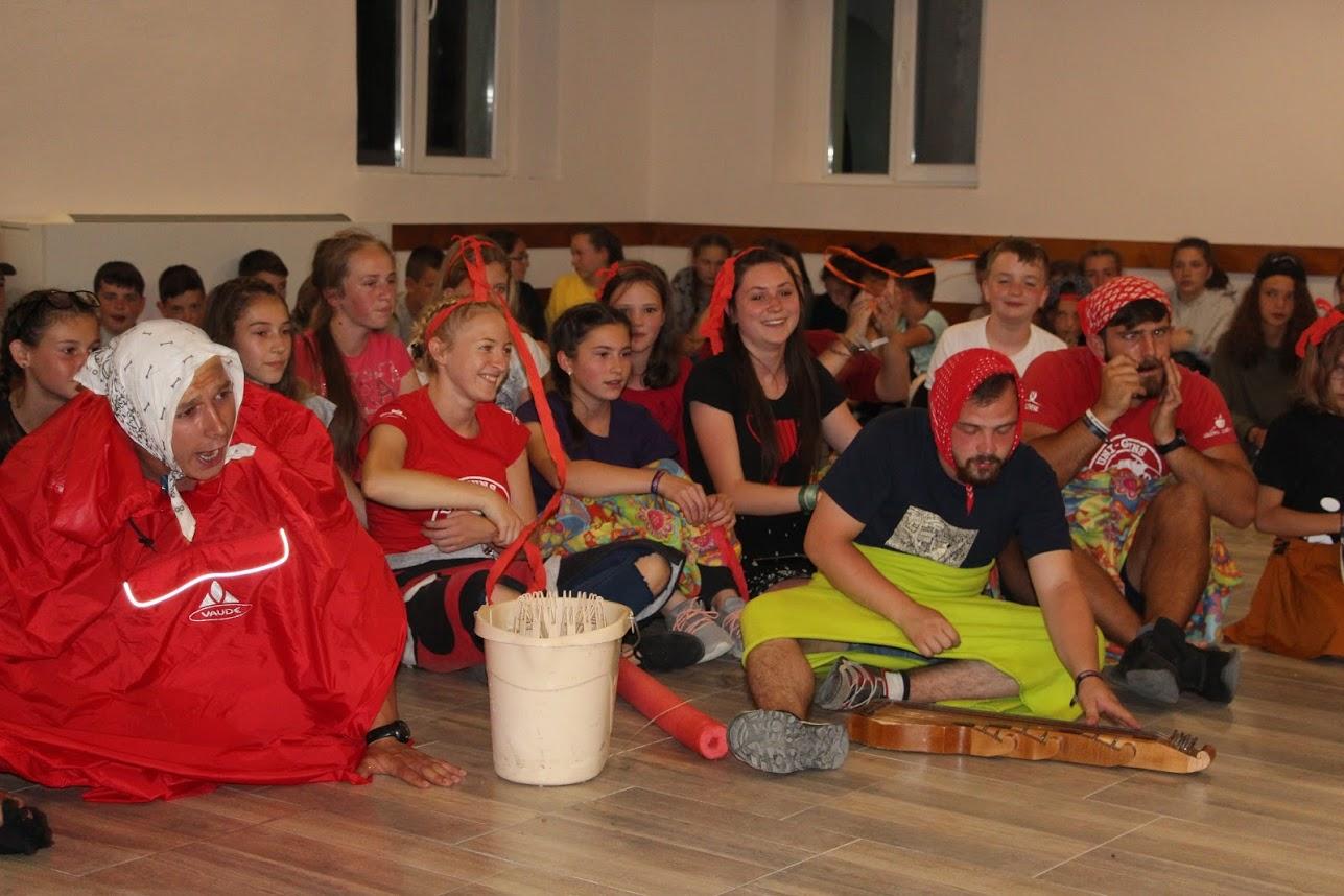 Várfalvi ifjúsági tábor12–14 éveseknek