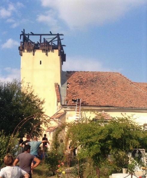 Felhívás adománygyűjtésre a bethlenszentmiklósi unitárius templom javára