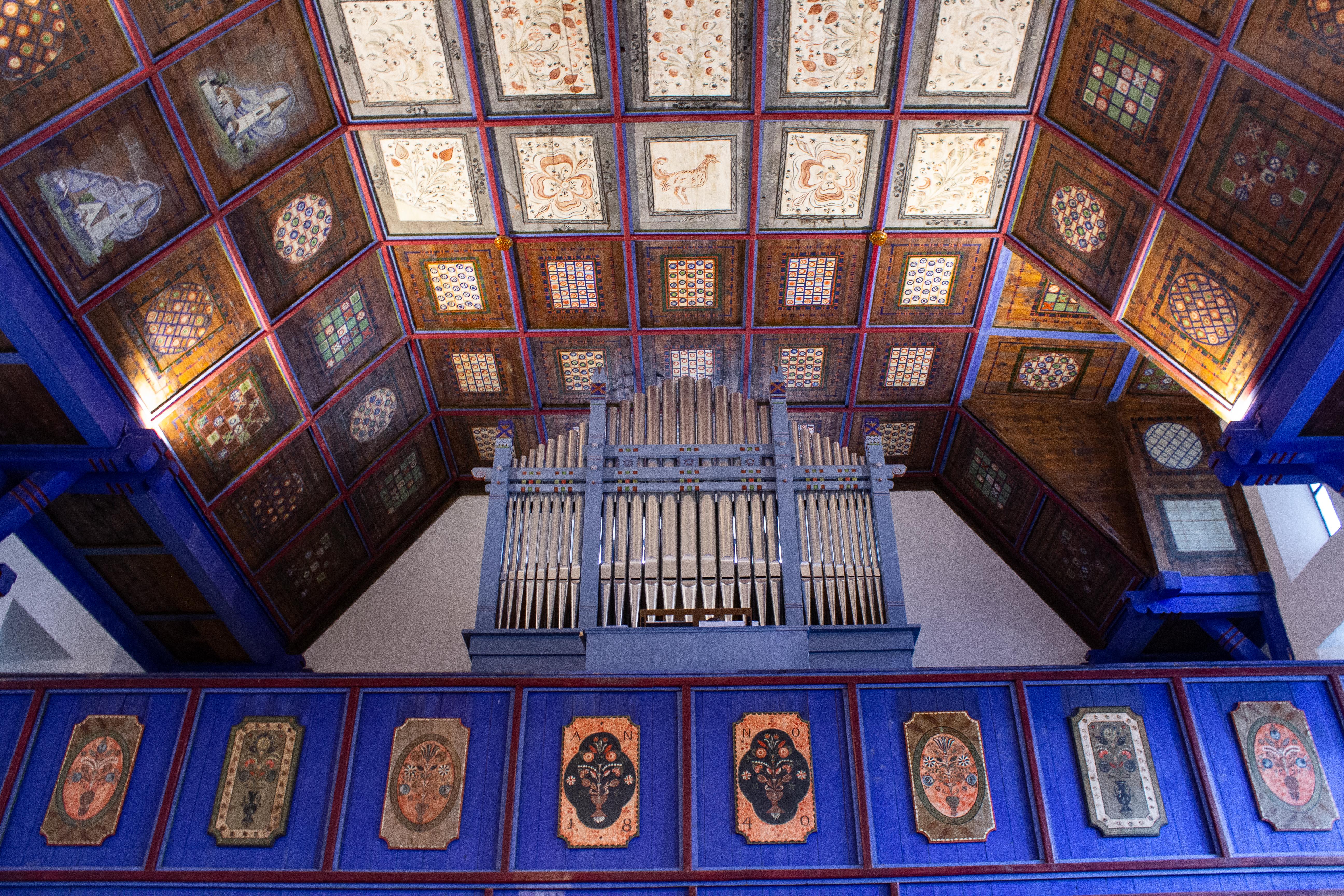 Templomszentelés Oklándon