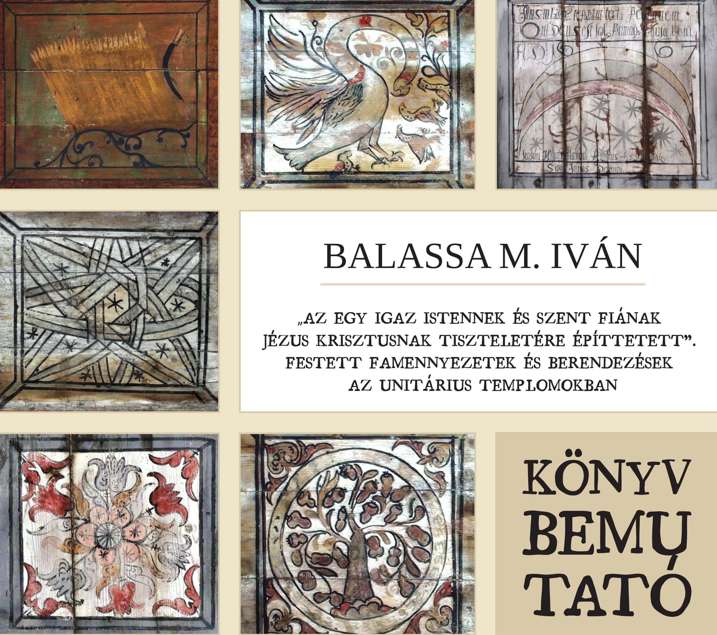 Festett famennyezetek és berendezések az unitárius templomokban – kötetbemutató körút