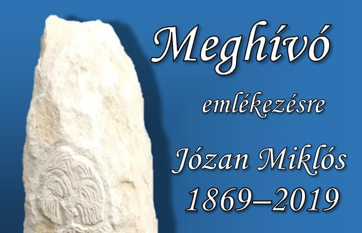 Emlékünnepély Józan Miklós születésének 150. évfordulója alkalmából
