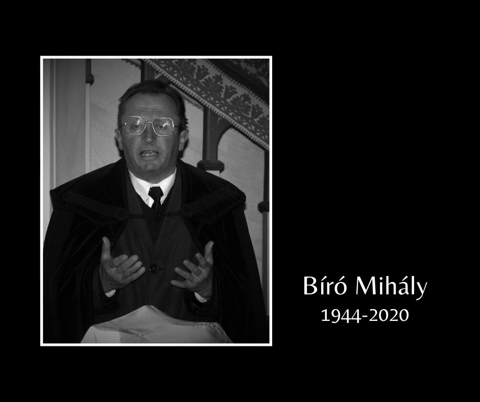 In memoriam Bíró Mihály