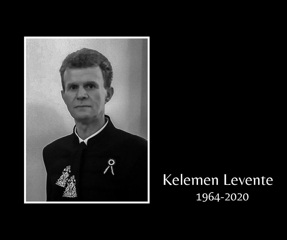 In memoriam Kelemen Levente