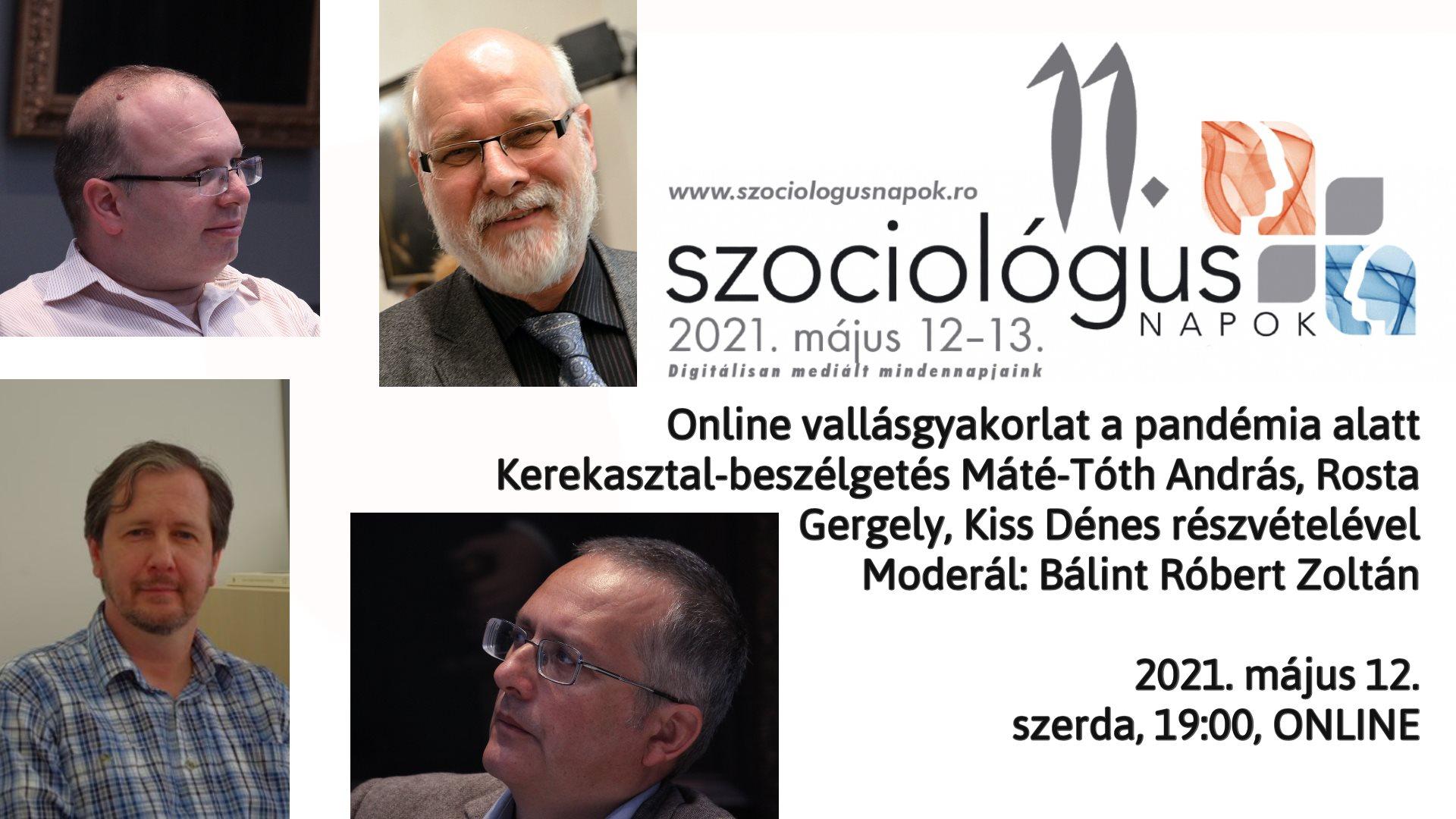 Online vallásgyakorlat a pandémia alatt – kerekasztal-beszélgetés