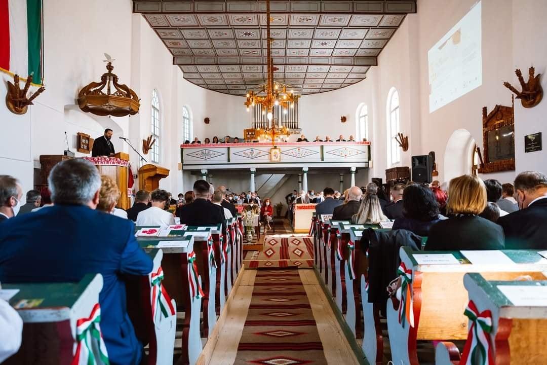 Tanévnyitó ünnepség és RMPSZ jubileumi találkozó Küküllődombón